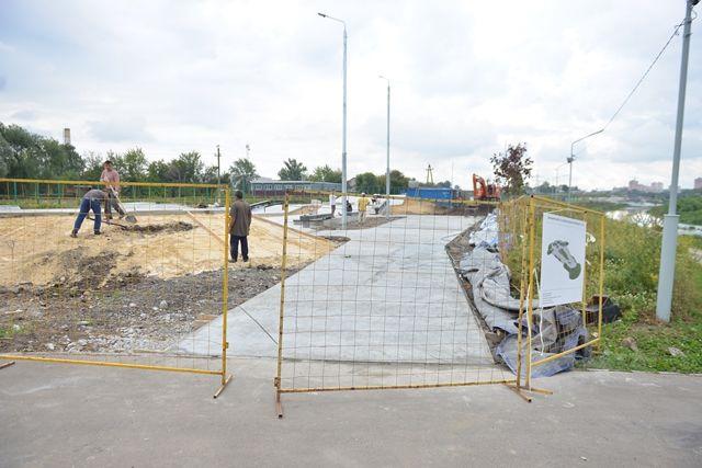 Строительство скейт-парка в Туле.