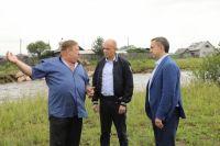 Сергей Сокол встретился с жителями Шелеховского района.