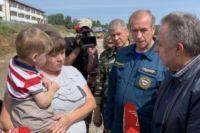 Вице-премьер и глава региона пообщались с местными жителями.