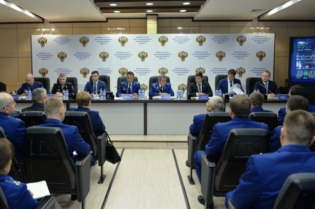 Губернатор ЯНАО участвовал в расширенном заседании коллегии прокуратуры