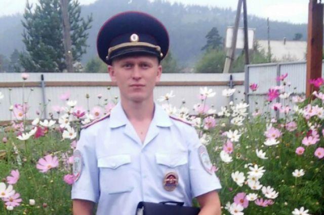 Участковый Алексей Максименко.