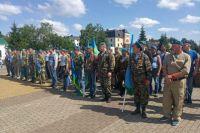 В Тобольске активно празднуют 89-летие российских Воздушно-десантных войск
