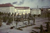 Эстонская ССР. Площадь Сталина в столице республики - Таллине.