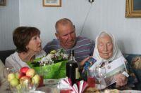 В Новотроицке М.И.Трунова отметила 100-летний юбилеей.