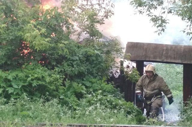 ЧЕтыре человека погибли на пожарах в Перми за первые выходные августа.