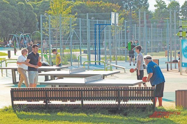Мастер-классы центра «Спорт-Бутово» проходили в пойме реки Битцы.