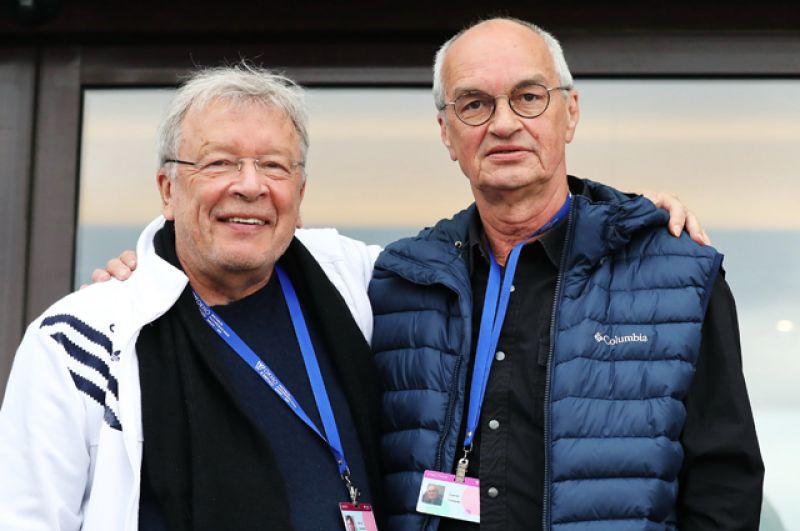 Виктор Ерофеев и Сергей Снежкин.