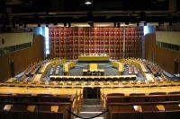 Зал заседаний Экономического и Социального Совета ООН.