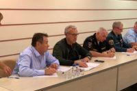 Глава региона назначил ответственных за эвакуацию людей из ближайших к очагу пожара населенных пунктов