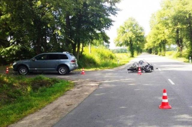 В Калининграде за сутки пострадали два мотоциклиста