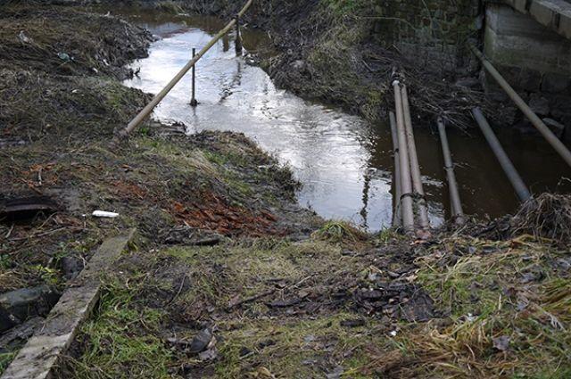 В 2020 году планируют расчистить русло реки Лесной