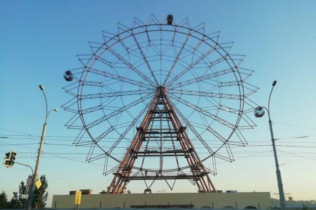 Названа дата открытия колеса обозрения на Михайловской набережной
