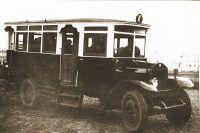 «Мордастый» автобус Saurer.