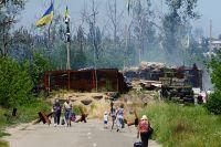НаКПП между ЛНР иУкраиной уСтаницы Луганской местным жителям лучше пообочинам неходить. Загоды конфликта Украина вошла вчисло самых заминированных стран вмире. Порабы уже новой власти начать разминирование.