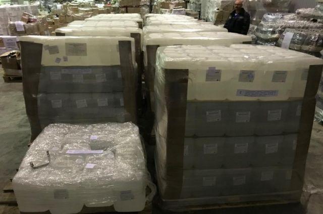 Калининградец ввозил в регион алкоголь под видом чистящего средства для ковров