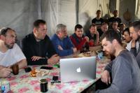 Глава ЯНАО принял участие в экологической уборке на острова Вилькицкого