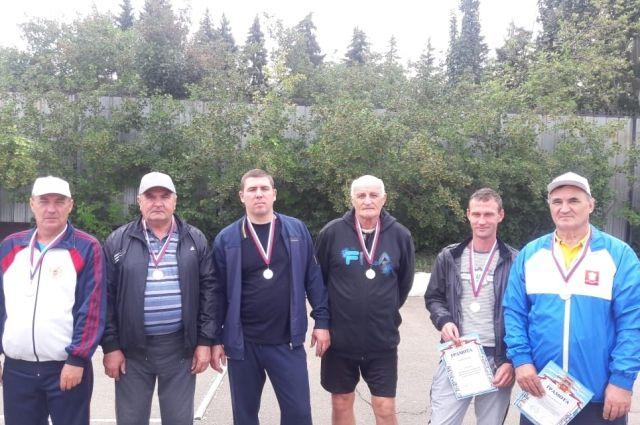 Городошники Уральской Стали стали призерами фестиваля рабочего спорта.