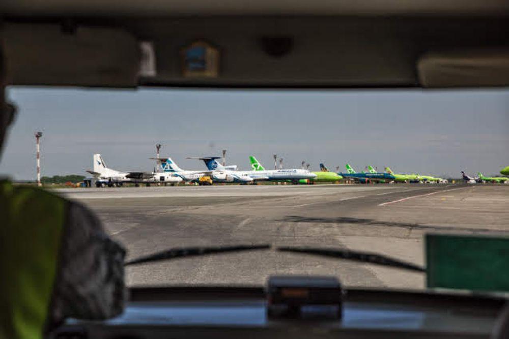 А ведь ежедневно в аэропорту взлетают и садятся более ста бортов.