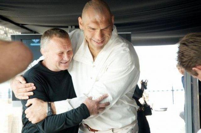 Валерий Дербин тренировал Валуева и его сына.