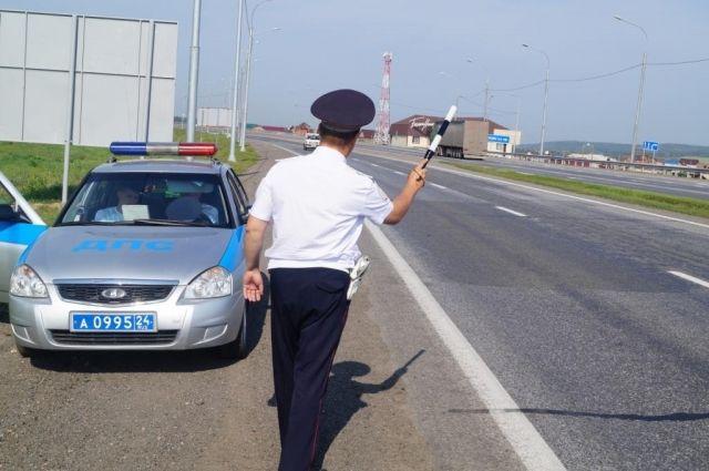 Во время патрулирования инспекторы выявили нарушителя.