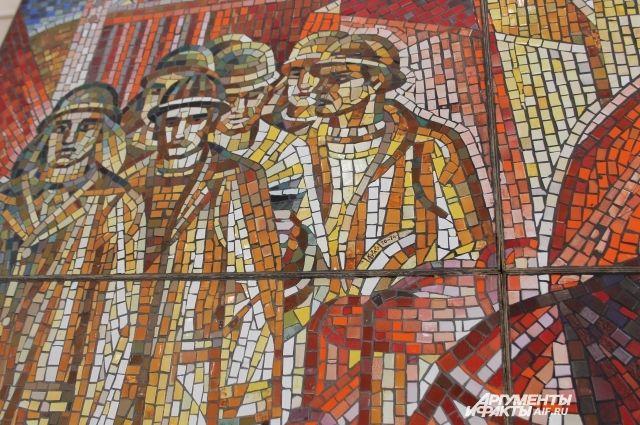Произведение монументального соцреализма создал знаменитый художник Бронислав Кураго