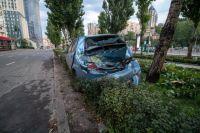 В Киеве произошло ДТП, с участием таксиста и пешехода