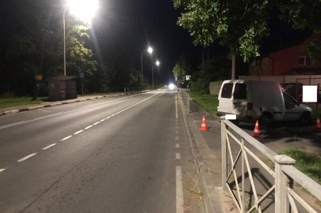 В Гурьевском районе нетрезвая автоледи без прав сбила пешехода