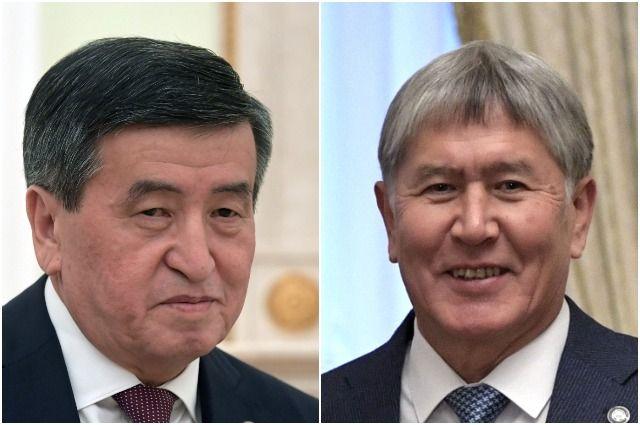 Сооронбай Жээнбеков и Алмазбек Атамбаев.