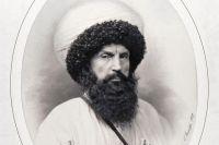 Фотопортрет Шамиля работы Г. Деньера, 1859 год.