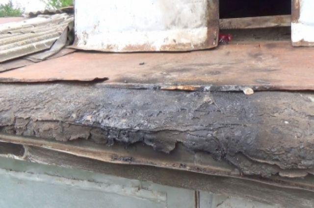 В Бугуруслане из-за игры с огнем в голубятне пострадали два ребенка