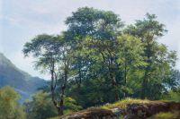 «Буковый лес в Швейцарии» И.И.Шишкина.