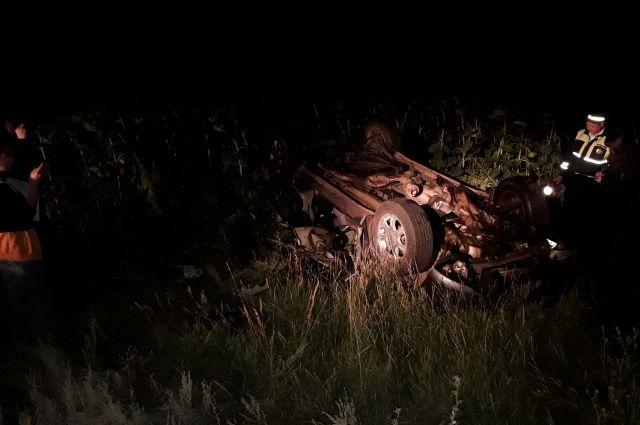 УМВД: в больнице скончался ребенок, пострадавший в ДТП на трассе М5-Урал