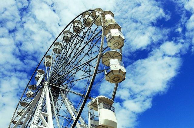 Высота нового аттракциона — почти 70 метров: самая верхняя точка обзора на 50 метров выше, чем у колеса-предшественника.
