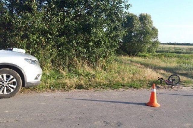 В Зеленоградском районе в ДТП пострадал несовершеннолетний велосипедист