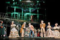 Мюзикл «Дубровский» на сцене Омского музыкального театра.