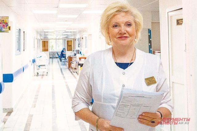 Ольга Шарапова – главный врач московской больницы №64 им. Виноградова и действующий депутат Мосгордумы.