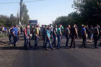 Протест шахтеров в Донецкой области: перекрыта новая трасса