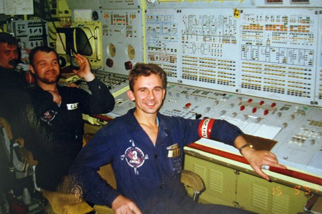 Сергей Кокурин во время службе на подлодке «Воронеж»