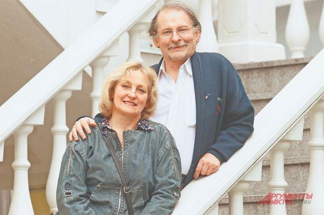 Лариса Алексеевна Нилова и Андрей Николаевич Козлов.