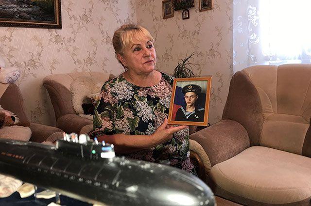 Валентина Старосельцева, мама матроса Димы Старосельцева.