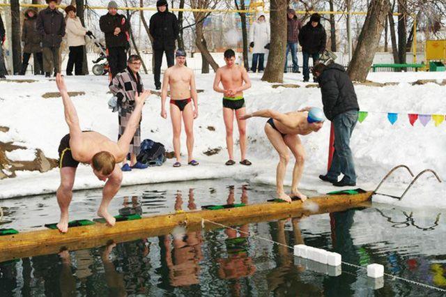 Тюменские моржи официально попали в Книгу рекордов России