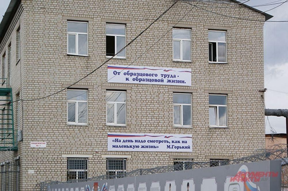 Исправительная колония №4 в Белгородской области.