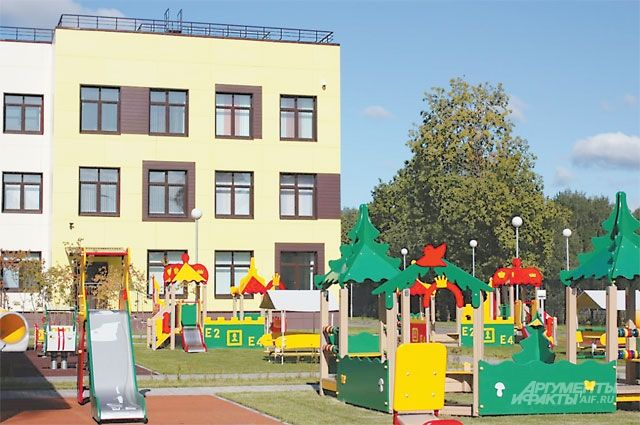 В детском саду на «Верхнем бульваре» завершаются отделочные работы.
