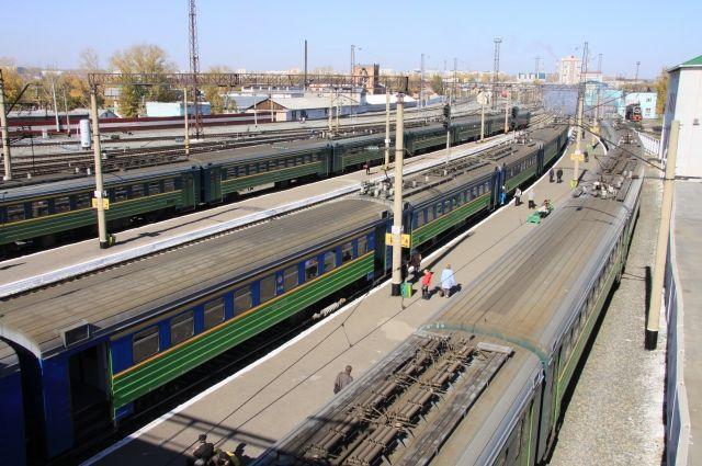 Поезда ходят в штатном режиме.