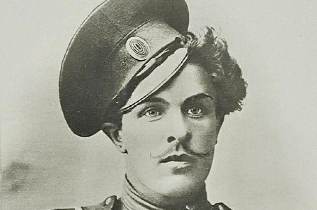 Народный герой, донской казак Козьма Крючков.