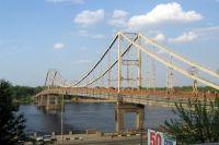 В столице перекроют пешеходный мост на Труханов остров