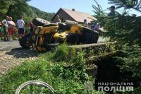 ДТП в Закарпатской области: есть пострадавшие