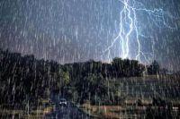 Метеорологи выложили карту сильных штормов, которые пройдут над Украиной