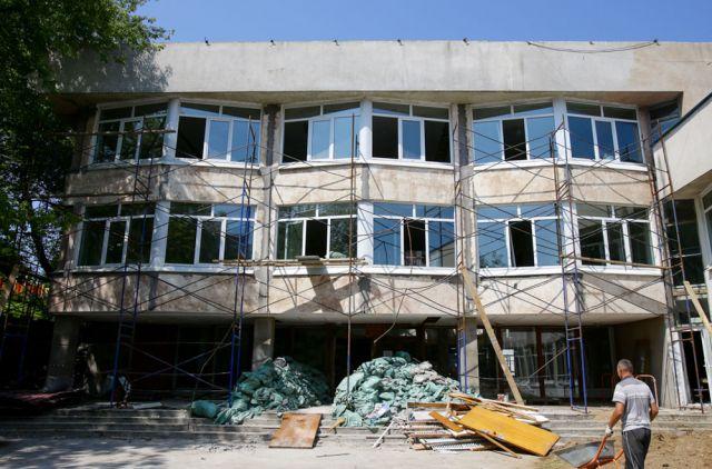 Масштабный капитальный ремонт - первый в истории дворца