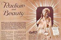 Реклама радиоактивной косметики (1918)